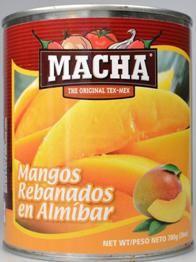 Owoce Mango w puszce 780g Macha
