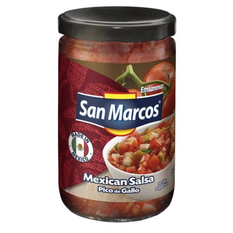 Salsa Mex. Pico de Gallo 230g (szkło) San Marcos