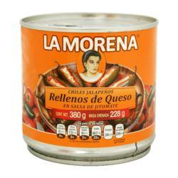 Jalapeno nadziewane serem 380g La Morena