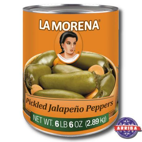 Jalapeno Chili Całe 2800g La Morena