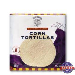 "Tortilla kukurydziana biała 15cm/6"" 12szt. AMBIENT"