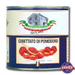 Pomidory Pelati Kostka 2,55kg AC