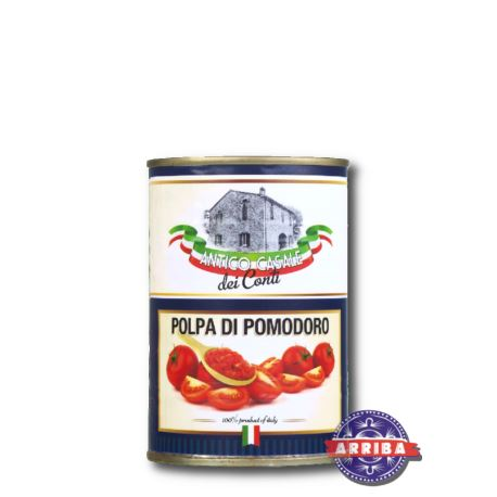 Pomidory Pelati Kostka 400g AC