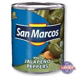 Jalapeno Chili Całe 2800g San Marcos