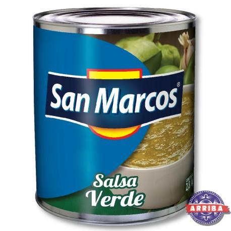 Salsa Verde 2800kg San Marcos
