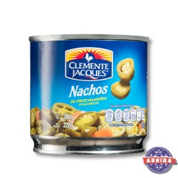 Jalapeno Krojone-Nacho 380g Clem.