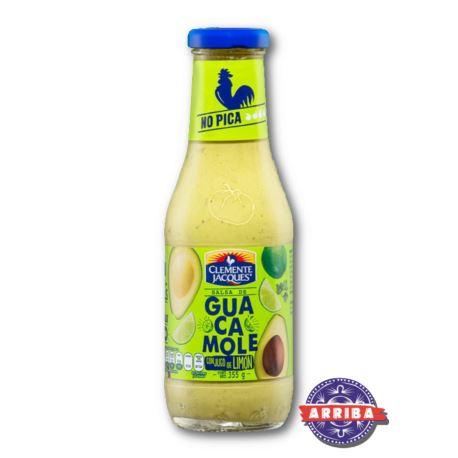 Salsa Guacamole Limon 355g Clem.